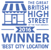 The Great British High Street, 2016 Winner - Best City Location