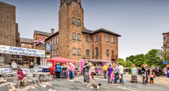 Cathedral Green, Silk Mill Derby