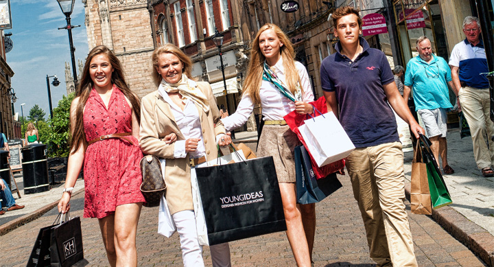 Cathedral Quarter Shopping
