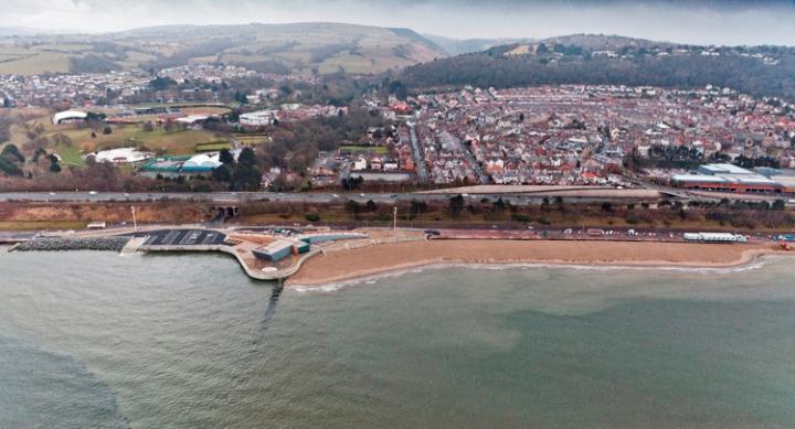 Colwyn Aerial View